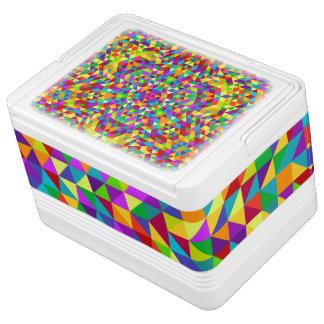Glückliche Dreieck-Mandala 2 Igloo Kühlbox