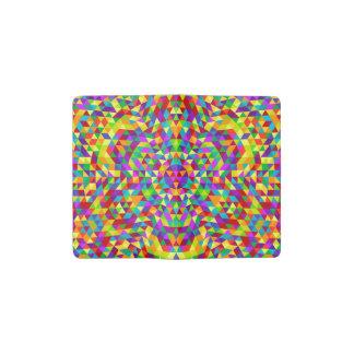 Glückliche Dreieck-Mandala 2 Moleskine Taschennotizbuch