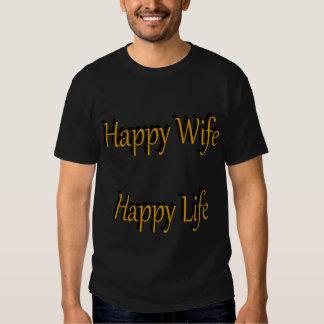 glückliche Ehefrau Tshirt
