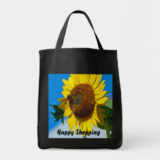Glückliche Einkaufstasche
