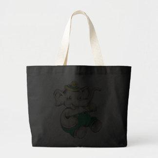 Glückliche Elefant-Taschen-Tasche