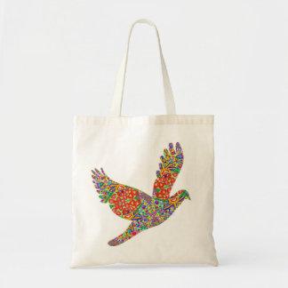 GLÜCKLICHE Engels-Vogel-Taschen-Tasche Budget Stoffbeutel