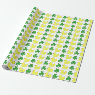 Glückliche Ente Ducky Duckie Geschenkpapier