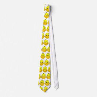 Glückliche Enten-Karikatur Personalisierte Krawatten
