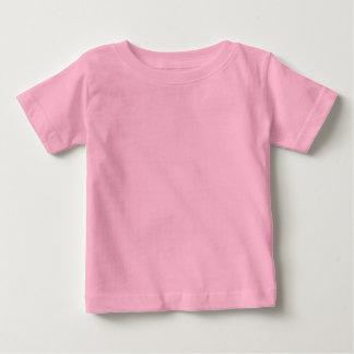 Glückliche Entwürfe: Hinterer n-Fronten-Druck Baby T-shirt