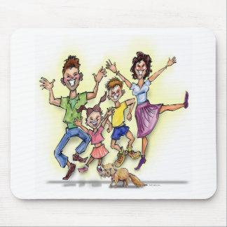 Glückliche Familie Mauspads