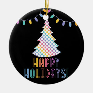 Glückliche Feiertage LLR Lularoe inspiriert Keramik Ornament