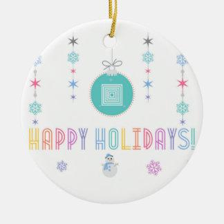 Glückliche Feiertage LLR Lularoe inspirierten 2 Keramik Ornament