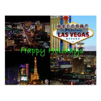 Glückliche Feiertage von landschaftlicher Postkarte