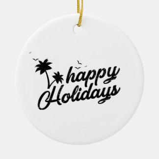 Glückliche Feiertags-fantastische Verzierung für Keramik Ornament