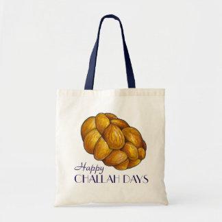 Glückliche Feiertags-Tasche Challah-Tageschanukkas Tragetasche