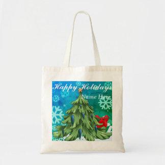 Glückliche Feiertags-Taschen-Tasche 2017 Tragetasche