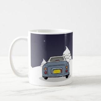 Glückliche Figmas - Lapis graue Nissan Figaro Kaffeetasse