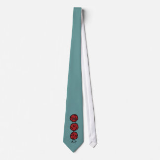 Glückliche Fleischklöschen Krawatte