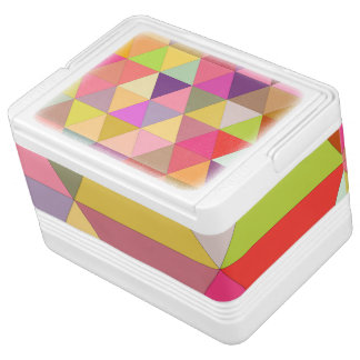 Glückliche Geometrie Kühlbox