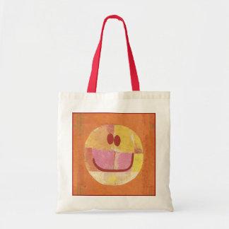 Glückliche Gesichts-Tasche Paul Klees Tragetasche
