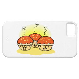Glückliche glückliche traurige Muffins iPhone 5 Hüllen