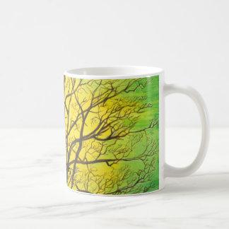 Glückliche grüne Baum-Tasse Tasse