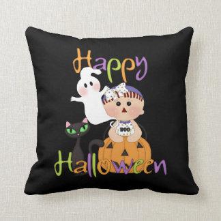 Glückliche Halloween-Baby-Freunde Kissen