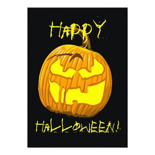 Glückliche Halloween-Einladung
