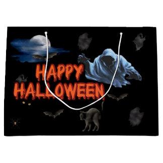 Glückliche Halloween-Geschenk-Tasche Große Geschenktüte