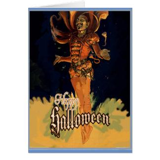 Glückliche Halloween-Gruß-Karte Karte