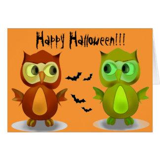 Glückliche Halloween-Gruß-Karten Grußkarte