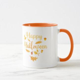 Glückliche Halloween-Herbst-Tasse Tasse