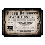 Glückliche Halloween-Karten-Einladung