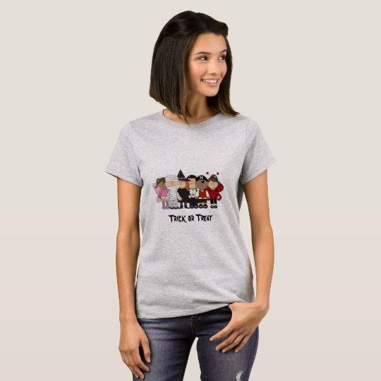 Glückliche Halloween-Kinder T-Shirt