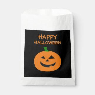 Glückliche Halloween-Kürbis-Bevorzugungs-Taschen Geschenktütchen