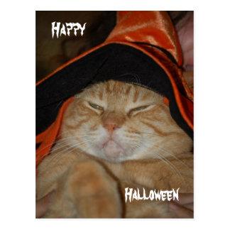 Glückliche Halloween-Posten Karte