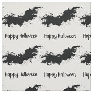 Glückliche Halloween-Schmutzschläger Stoff
