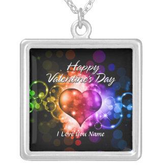 Glückliche Halskette des Valentinstag-5
