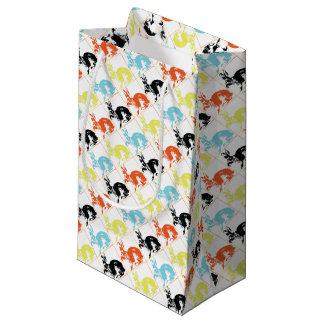 Glückliche Häschen-Geschenk-Verpackung Ostern Kleine Geschenktüte