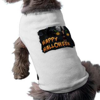 Glückliche Haustier-Kleidung Halloweens Skye Hund Shirt