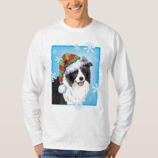 Glückliche Howliday Border-Collie T-Shirt