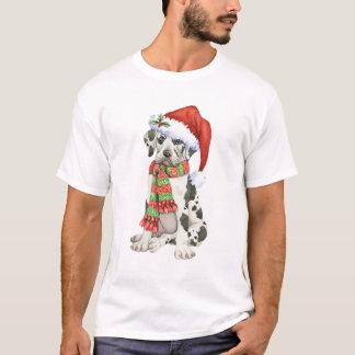 Glückliche Howliday Deutsche Dogge T-Shirt
