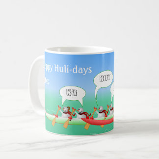 Glückliche Huli-Tage Kaffeetasse
