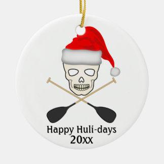 Glückliche Huli-Tage Keramik Ornament