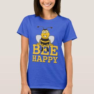 Glückliche Hummel-Biene T-Shirt