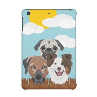 Glückliche Hunde der Illustration auf einem