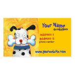 glückliche HundeVisitenkarte Visitenkarten Vorlagen