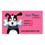 glückliche HundeVisitenkarte Visitenkarten