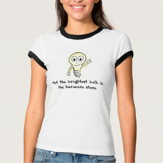 glückliche Ideenbirne 1, nicht die hellste Birne T-Shirt