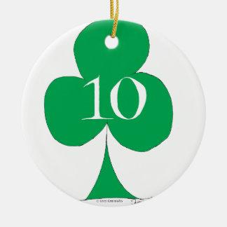 Glückliche Iren 10 der Vereine, tony fernandes Keramik Ornament