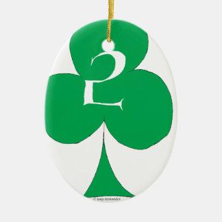 Glückliche Iren 2 der Vereine, tony fernandes Keramik Ornament