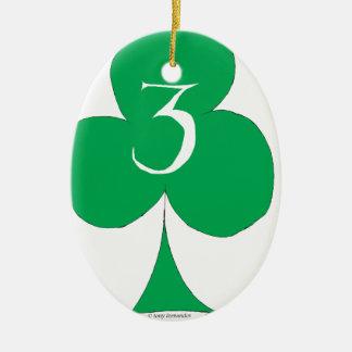Glückliche Iren 3 der Vereine, tony fernandes Keramik Ornament