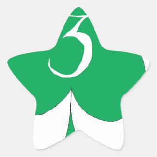 Glückliche Iren 3 der Vereine, tony fernandes Stern-Aufkleber