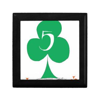 Glückliche Iren 5 der Vereine, tony fernandes Schmuckschachtel